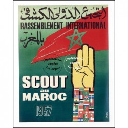 """RASSEMBLEMENT 1957 """"SCOUT..."""