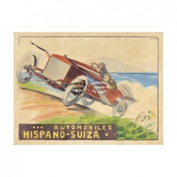 AUTO: HISPANO SUIZA  Réf144...